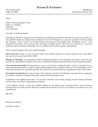 Sales And Operations Executive Cover Letter Sample M M