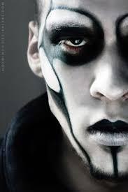 y horror goth men s make up for