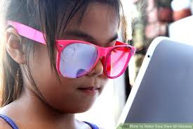 3d Custom Girl Wikipedia How To Make Your Own 3d Glasses 9 Steps With Pictures