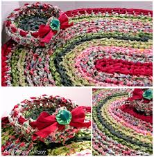 january has been round and oval rag rug and basket month