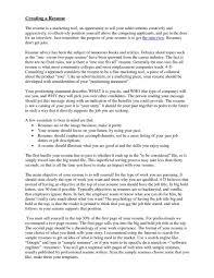 Resume Objective Sample Marketing Statements Resume Objective For