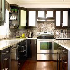 Kitchen Tone Design Two Color Cabinet Ideas Designs And Colors
