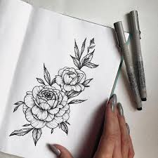 Pin By Apollinaria On идеи для татуировок эскиз тату тату пионы