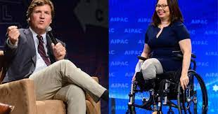 Use of her military rank, job titles and photographs in uniform does not imply endorsement by the … Sen Tammy Duckworth Responds After Tucker Carlson Suggests She Hates America Cbs News
