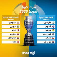 """Sport360 Arabiya on Twitter: """"قرعة كوبا أمريكا 2020 🇦🇷🇨🇴 توقعك، من  سيحقق لقب هذه النسخة؟ 🤔… """""""