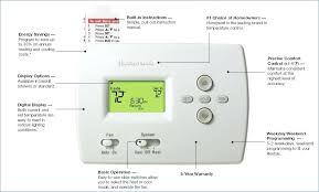honeywell home thermostat wiring diagram michaelhannan co honeywell digital thermostat wiring diagram home heat pump programmable 2 1 cool pro