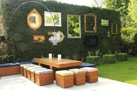 patio wall decor ideas