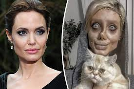 Accused - Instagram 'lookalike' Fake Daily Angelina Being Of After Jolie A Star Blocks