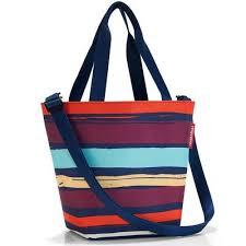 <b>Сумка Reisenthel Shopper XS</b> из полиэстера разноцветная ...
