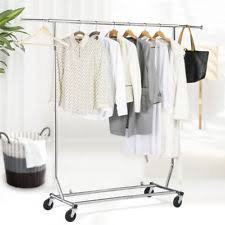 Adjustable Coat Rack Collapsible Rolling Adjustable Single Garment Clothes Coat Rack 83