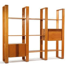 vintage 60s furniture. 197039s Lou Hodges Oak Wall Shelf Unit Desk Vintage 60s 70s Wood Shelves Furniture