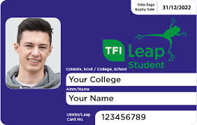 student leap card