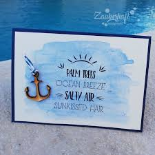 Ideenwoche Sommer Sonne Strand Und Meer Aquarell