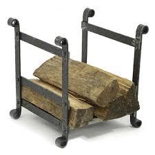 hammered log holder silver mist woodlanddirect com firewood racks heritage