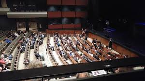 Pikes Peak Performing Arts Center Seating Chart View From The Mezzanine Box Seats When People Stand In