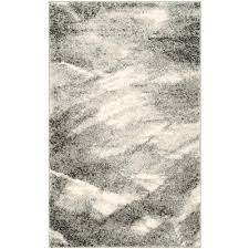 safavieh retro grey ivory 3 ft x 4 ft area rug