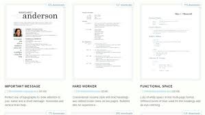 Downloadable Microsoft Templates Resume Free Template Download Download 275 Free Resume Templates For