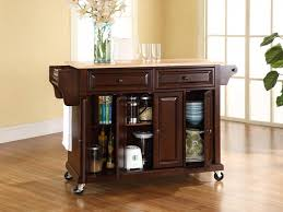 Kitchen Island Cart Kitchen Island Carts Ideas For Small Spaces All Home Ideas