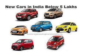 new car releases in 2016Latest best cars in India below 5 lakhs  2017  2018