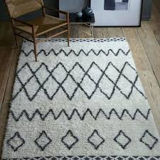 black and white aztec rug ikea