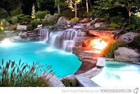 inground pools with waterfalls. Fine Waterfalls Inground Pool Waterfalls For Pools Swimming Designs With  Amusing Throughout Inground Pools With Waterfalls W