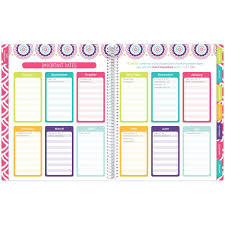 Bloom Daily Planners Undated Teacher Planner Medallions