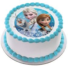 Frozen Birthday Cake Online Fast Delivery Yummycake