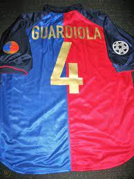 Authentic Guardiola Nike Barcelona Centenary Jersey 1998 - 1999 Shirt  Camiseta
