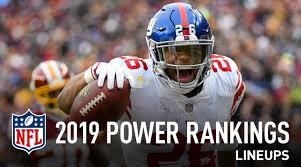 Nfl Power Rankings 2019 San Francisco Makes Statement