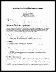 resume format chemical engineering fresher  best create