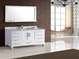 white single bathroom vanity. Armada 60\ White Single Bathroom Vanity N