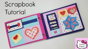 Scrapbook Tutorial How To Make Scrapbook Diy Scrapbook Tutorial Birthday Scrapbook Ideas