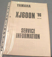 yamaha motorcycle workshop manuals in literature type not yamaha xj600n 1996 4ke se2 service information wiring diagram manual 504