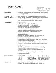 Sample Resume Paper Example Of A Resume Paper As Resume Objective