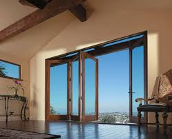 andersen folding patio doors. Andersen Windows - View Of The LA Skyline. Folding Patio Doors Are Available In Panels Up To 10 Feet Tall And Expanses 48 Wide. L
