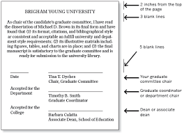 Apa For Novices Appendix Graduate Committee Approval Page Byu