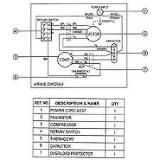 goldstar air conditioner parts model r5003 sears partsdirect wiring diagra