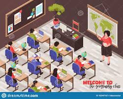 How To Design A Classroom Poster Teachers And Classroom Poster Stock Vector Illustration Of