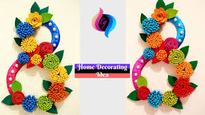 craft ideas for home decor with paper awesome diy wall decor idea with paper and cardboard
