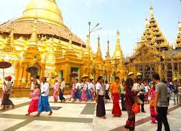 これがミャンマーのパヤー(お寺)