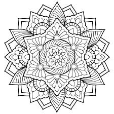 Small Picture Fall Abstract Coloring Pages Coloring Pages