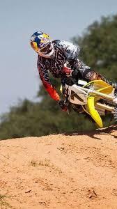 Suzuki Dirt Bikes Motocross James Stewart Jump Supercross