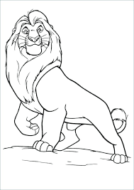 Prissy Design Mufasa Coloring Pages The Lion King Hellokids Com Free