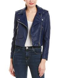 walter baker liz leather moto jacket