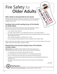 fire safety for older s older s at greatest risk for fire older s those age 65 and above accounted for 14 of the population
