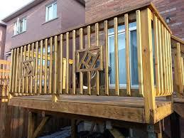 deck railing designs diy