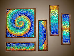 mosaic tile art mosaic wall art