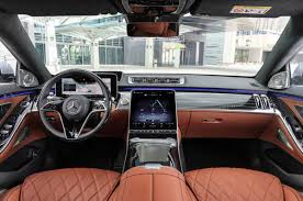 So many luxury features are standard in the s580 we couldn't possibly list them all here, but all models will come with exquisite leather on virtually every interior surface; New Gen W223 Mercedes Benz S Class Debuts Autocar India
