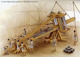 torsion catapult. and this is a catapult: torsion catapult