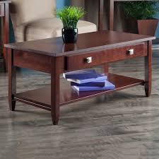 For beauty and functionality, coffee tables and side tables are an essential piece to consider when cosh living offers a variety of low tables made from durable materials, including teak, polymer. Winsome Richmond Coffee Table